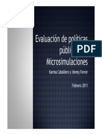 09 Evaluacion de Politicas Publicas Con Microsimulaciones