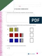 Fracciones quinto básico