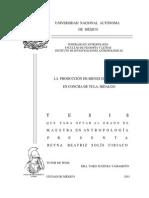 La Produccion de Bienes de Prestigio en Concha de Tula Hidalgo