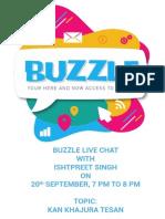Buzzle 1-KKT Flyer