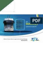 Transports en Communs de Limoges Hiver 2015
