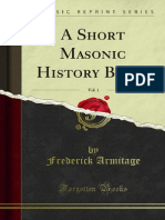 A Short Masonic History Being v1 1000000283