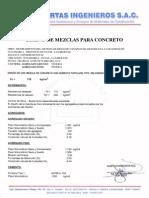 Diseño de Mezcla - Teneria