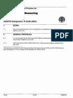 R 20-99 (2003) Procedures for Measuring Highway Noise