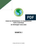 Plan za upravuvanje so Nacionalniot park Galichica (2010-2020)
