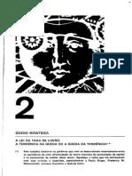 MANTEGA, Guido - A lei da taxa de Lucro