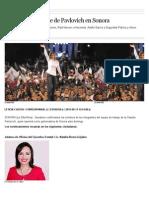 11 - 09 -15 Confirman Gabinete de Claudia Pavlovich en Sonora
