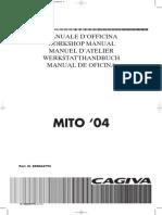 Cagiva 2004 Mito125 Libro de Taller