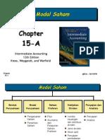 Chapter 15A Modal Saham