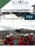 Informe de visita a obra del curso de Construcciones