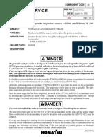 AA01044A (830E Hydraulic Acumulator Welds)