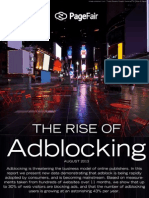 The Rise of Adblocking - PageFair 2013 Report