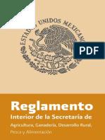 Reglamento Interior SAGARPA