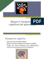 Bloque II Perspectivas Cognitivas1