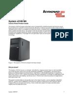 Servidor IBM x3100 M4 - Caracteristicas