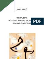 Fichas artisticas obras J. Miró