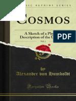 Cosmos - A Sketch of Physical Description of the Universe - Alexander Von Humboldt - Volume 2