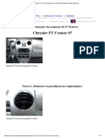 Chrysler PT Cruiser Instruções Da Remoção de 07 Estéreo _ Reparação Som