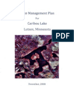 Caribou Lake Management Plan (306-star05-08)