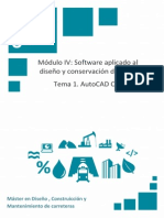 Tema 1. AutoCAD Civil 3D I