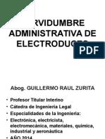 Servidumbre Administrativa de Electroducto