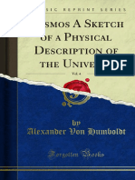 Cosmos - A Sketch of Physical Description of the Universe - Alexander Von Humboldt - Volume 4
