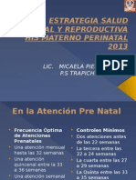 His Estrategia Salud Sexual y Reproductiva