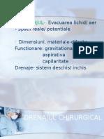 DRENAJUL CHIRURGICAL