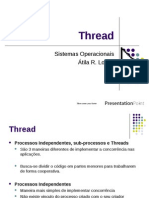 Sistemas Operacionais - Threads