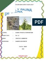 Flora y Fauna de Tacna