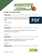 savoirs+3e+cycle+mathematique