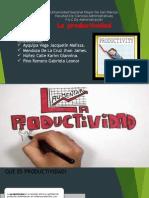 productividad version de fca administracion