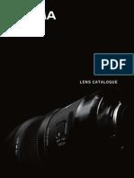 Sigma Lens en 2014