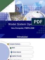 Model Sistem Operasi