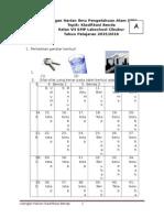 UH 2 IPA Klasifikasi Materi untuk Kelas 7