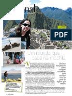 Matéria Mochileiros - Revista Regional