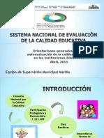 Sistema Nacional de Evaluación de la Calidad Educativa