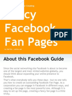 Fancy Facebook Fan Pages a Step by Step Guide