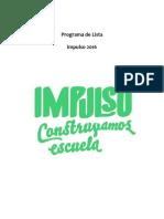 Programa Impulso 2016