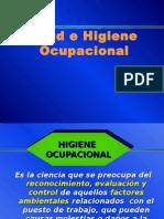 Salud e Higiene Ocupacional