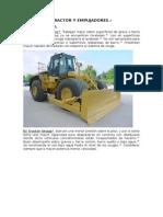 Tractor y Empujadores