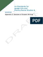 K-12 ELA Appendix C