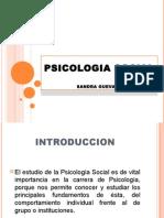 Naturaleza de La Psicologia Social