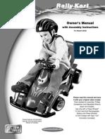 Kart Owner's Manual