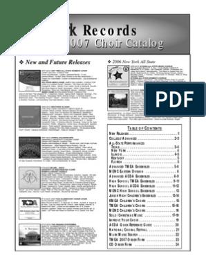 ChoirCatalog | Choir | Classical Music