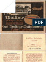 Carl Walther Models Brochure