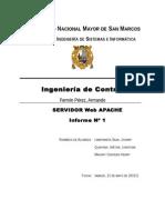 Servidor Apache y JMeter