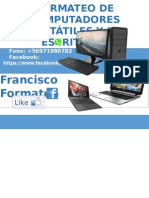 Formateo de Computadores