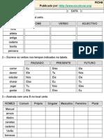 Gramatica Tudo Fichas