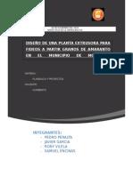 Proyecto Planta Extrusora de Amaranto